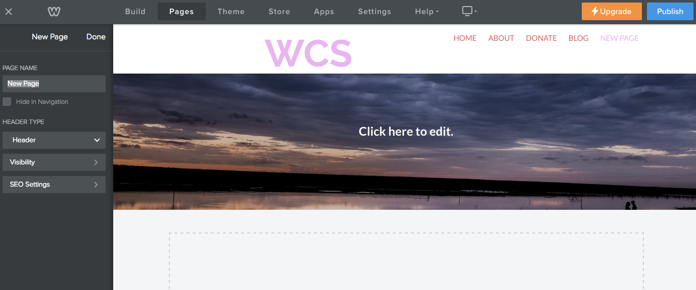 Create The Html Layout Templates Weebly Developer