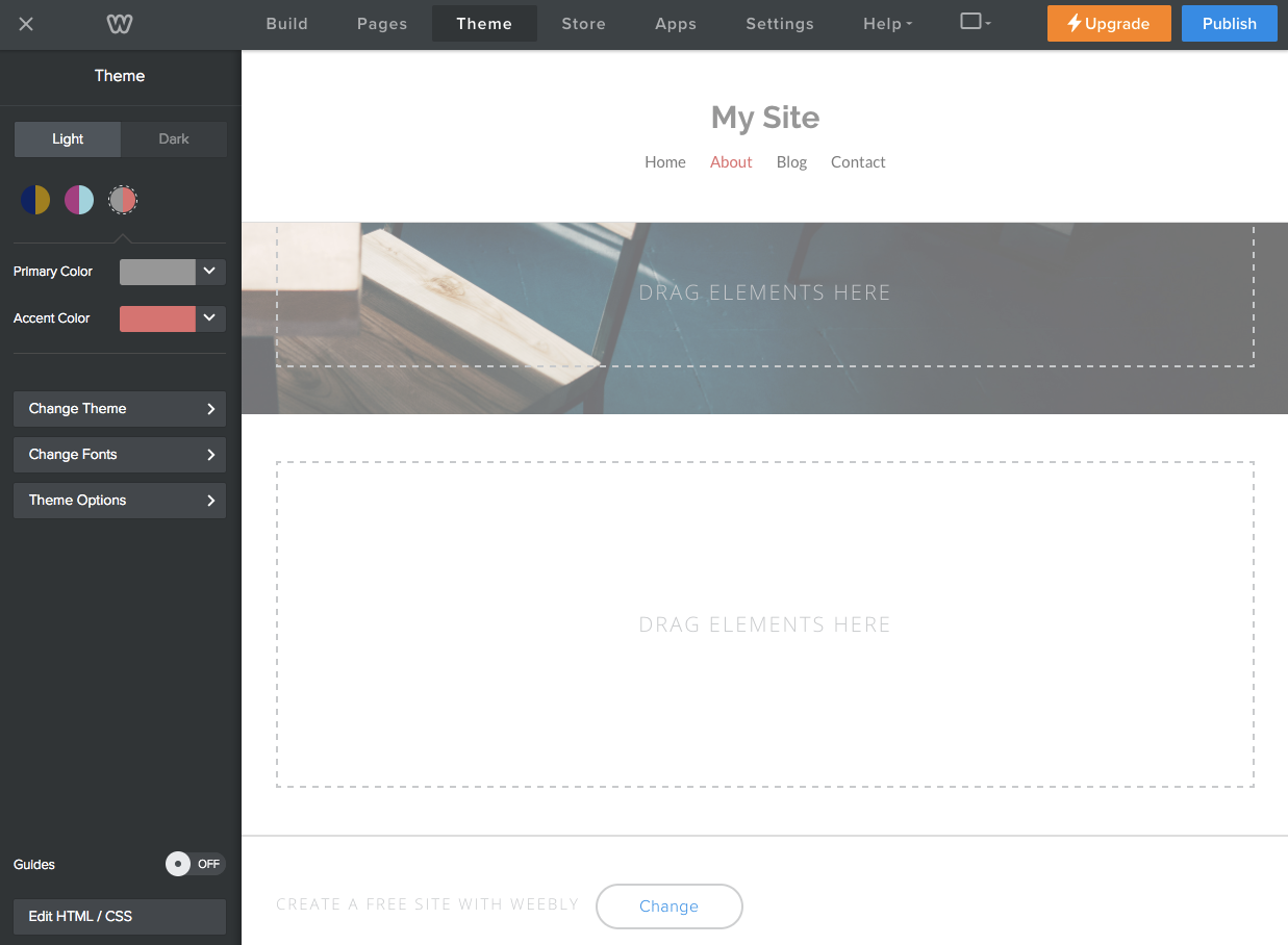 get started with customizing themes weebly developer documentation